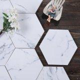 Hexagon Tegels van het Graniet van de Badkamers van de Decoratie van de Muur van de Rustieke Bevloering van de Steen van het Porselein van het Bouwmateriaal de Verglaasde Natuurlijke Marmeren Ceramische