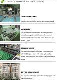 Automatischer seitlicher Dichtungs-Polythen-Reißverschluss-Beutel, der Maschine herstellt