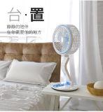 2018 Nuevo ventilador Solar solar DC con lámpara de lectura 6V del ventilador Solar