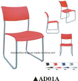 Poplular Office Furniture Plastic Chair para Training