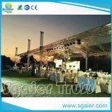 큰 Scale Performance를 위한 알루미늄 Flat Roof Truss Concert Truss Used