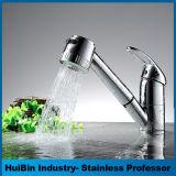Le traitement simple commercial moderne retirent le robinet de bassin de cuisine de barre de pulvérisateur