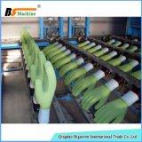 Gant de travail de sécurité du travail plongeant la ligne de production à la machine