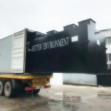 Máquina subterrânea do tratamento de água de esgoto para o tratamento de Wastewater do hospital
