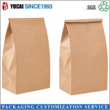 120g Papel Kraft Food Bag Bolsa de embalaje
