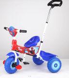 2018 crianças de aço do novo modelo de triciclo para o bebé