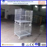 Reboque / caixa de armazenamento dobrável médio industrial logístico superior para armazenamento