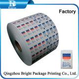 2018 Material de embalaje automático de papel de aluminio de gasa con alcohol