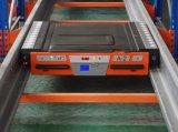 Défilement ligne par ligne en acier de palette de navette d'entrepôt