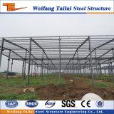 Edificio de estructura de acero y acero de vigas de acero de almacén