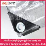 Folha plástica de encerado do PE material revestido do HDPE Woven+Lpde