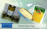 Type d'immersion en eau Retort stérilisateur pour des aliments en conserve