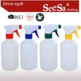 500ml de plástico de névoa de PE frasco pulverizador/ Pressão Manual Acionar Pulverizador (SX-308)
