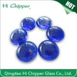 Pozzo di vetro del fuoco della pietra preziosa dell'azzurro di cobalto