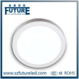 Luz del panel redonda de aluminio de la cubierta 3W LED para la iluminación casera/comercial
