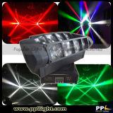 Lumière principale mobile de mini LED araignée de faisceau de RGBW 4in1 8*10W