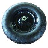 16 rotella di gomma pneumatica del reticolo quadrato di pollice 4.00-8