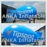 광고를 위한 나는 파란 팽창식 헬륨 소형 연식 비행선 풍선