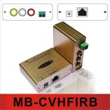 Vídeo composto e áudio Hi-Fi estéreo /IR Pass-Thru (CVHFIRB Balun)