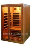 2019 Longe Sauna de Infravermelhos para 2 Pessoa-W2