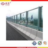 con el panel / hueco de policarbonato Hoja de protección UV de policarbonato PC dom.