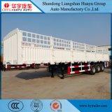 de Lading van 12.5m/de Semi Aanhangwagen van de Vrachtwagen van de Staak van het Nut van het Vervoer van de Container met het Slot van de Container