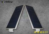 80W 9000lm LED 옥외 가벼운 한세트 통합 태양 거리 또는 도로 램프