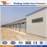 Estructura de acero de China de la casa de aves de corral para la construcción edificio
