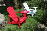 Presidenza di piattaforma esterna di Adirondack Sun della duplicazione della mobilia del giardino per il raggruppamento del cortile del patio dell'hotel