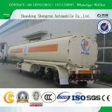 De Aanhangwagen van de Tank van de Brandstof van China van de lage Prijs met Fabrikanten van de Vrachtwagen van de vierkant-Cirkel de de Achter/Aanhangwagen van de Tank