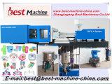 Injeção plástica dos produtos do agregado familiar pequeno a rendimento elevado que molda fazendo o preço da máquina