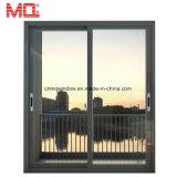 Раздвижная дверь изготовления низкой цены высокого качества алюминиевая стеклянная