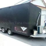 최신 판매 1200W 3 바퀴 음식 트럭 이동할 수 있는 음식 트레일러