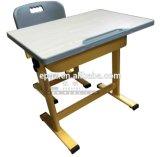 Mesa e Cadeira simples fixo da menina, secretária com cadeira (SF-26UM)