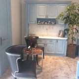 Portelli di lusso dell'armadio da cucina di legno solido di Welbom