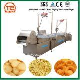 Aço inoxidável de transformação de produtos alimentares que frita a máquina/frigideira