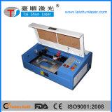 CO2 Laser-Gravierfräsmaschine mit dem Dreh für Zylinder