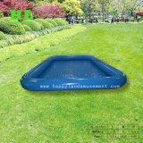 夏は小型プール日光浴をする膨脹可能な水プールをからかう