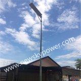 25W Calle luz LED con Energía Solar