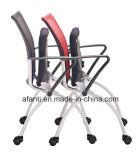 Büro-Ineinander greifen-faltender Konferenz-Sitzungs-Stuhl (RFT-E802-2)