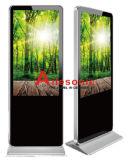 Innenfußboden 49, der das LCD-Netz-Media-Video bekanntmacht Spieler-Multimedia-DigitalSignage farbenreiche LED-Bildschirmanzeige steht