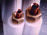 Tubulações de cobre isoladas para o condicionamento de ar