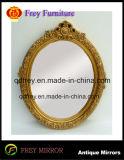 Het houten Frame van de Spiegel van de Muur met Antiek Ontwerp