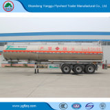 Serbatoio della benzina del combustibile della lega di alluminio dei 3 assi/gasolio/dell'autocisterna rimorchio semi con la marca della Cina