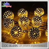 Weihnachtsinner-geformte Zeichenkette-Lichter des LED-Solarzeichenkette-Licht-LED
