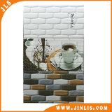 Badezimmer-wasserdichter Polierziegelstein-keramische Wand-Fliese des Baumaterial-250mmx400mm