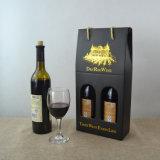 Caja de regalo de vino personalizada