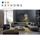 メーカー価格の居間の家具の革ソファー