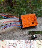 12V/24V 5A/10A (<; 120W) Carregador Solar inteligente PWM/controlador de carga, Solar Controller, Controlador da Bateria de lítio, Controlador da lâmpada de rua, IP65