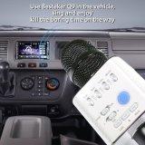 De draadloze Handbediende Microfoon van de Condensator van Bluetooth van de Speler van de Karaoke van de Microfoon KTV Q9 Stereo Handbediende